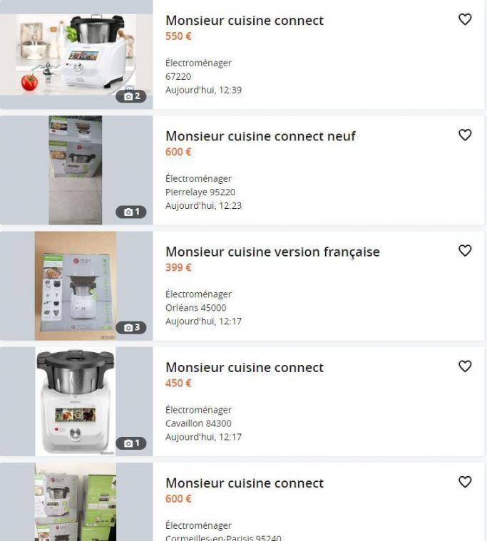 #Monsieurcuisineconnect : Ruée vers les Lidl pour acheter le nouveau robot multifonctions