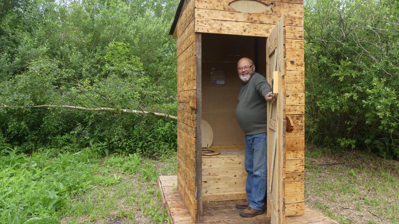 Toilettes Sèches En Appartement des toilettes sèches installées dans les marais de long
