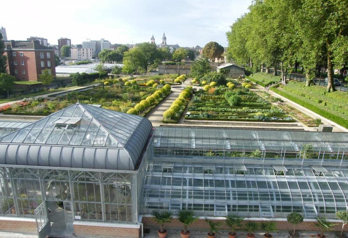 La riche histoire du Jardin des plantes d'Amiens