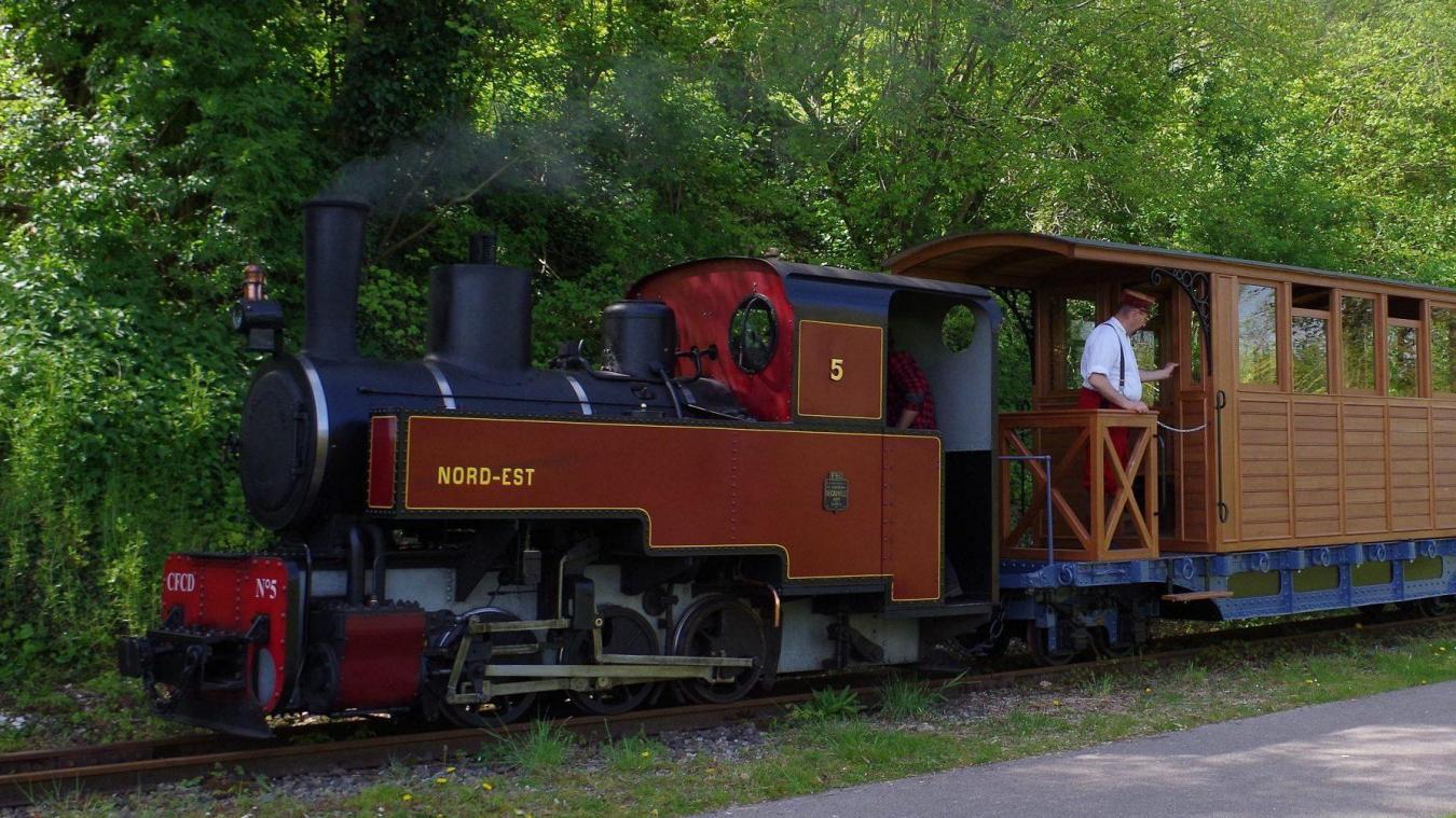 Un Train A Vapeur Va Circuler Sur L Esplanade De Mers Les Bains