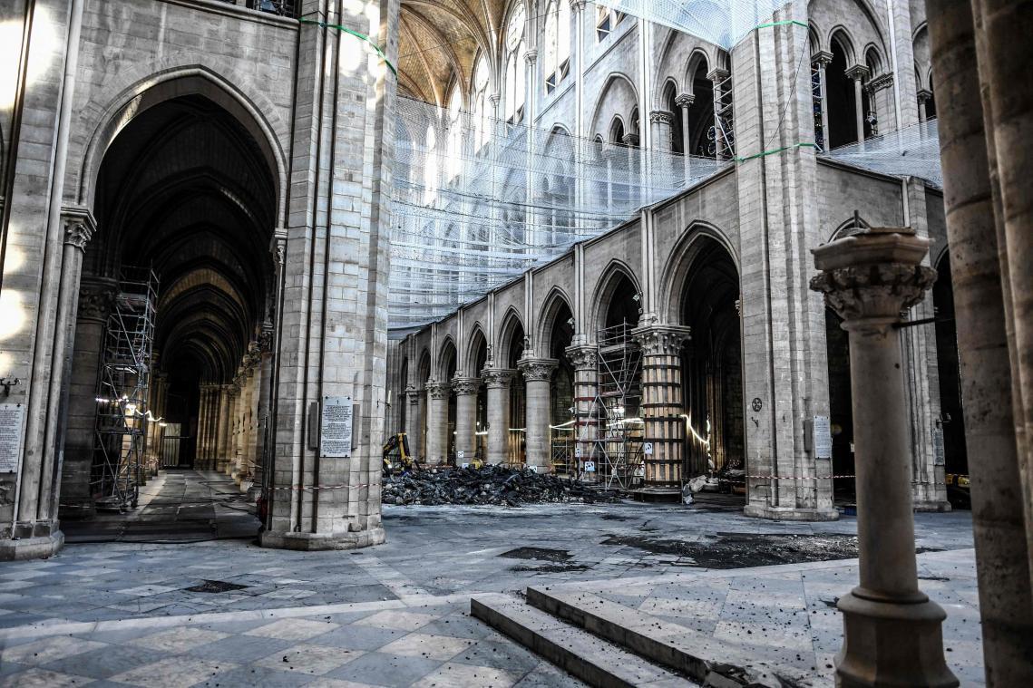 Les travaux de consolidation de Notre-Dame redémarrent