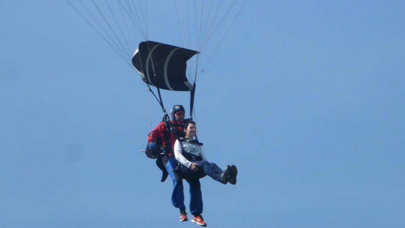 La société «Sauter en parachute » basée à Amiens devant le conseil d'État - Courrier picard