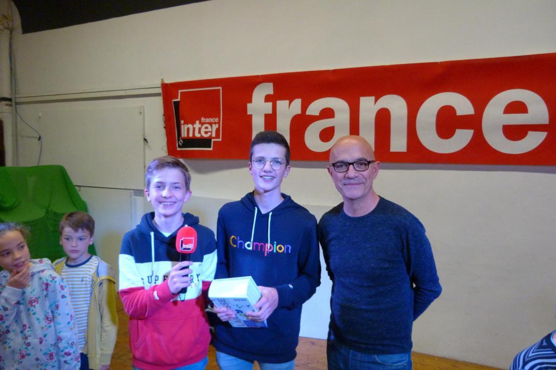 précédent Paul et Simon, héros du jeu des 1000 euros à Villers-Bretonneux - Courrier picard