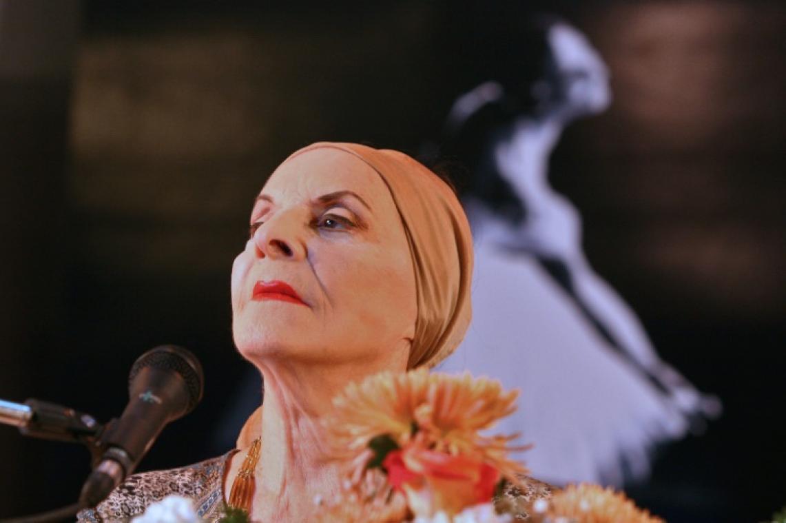 "Alicia Alonso, ""prima ballerina assoluta"" de Cuba"