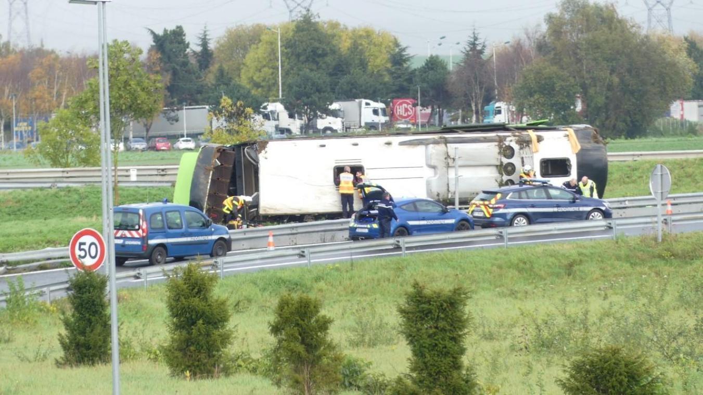 Un accident d'autocar fait 33 blessés — France