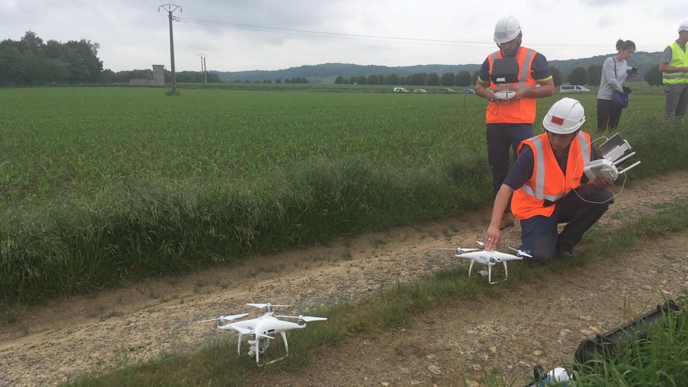Noyon: le pôle d'essai de drones annoncé «fin 2019 – début 2020» - Courrier picard