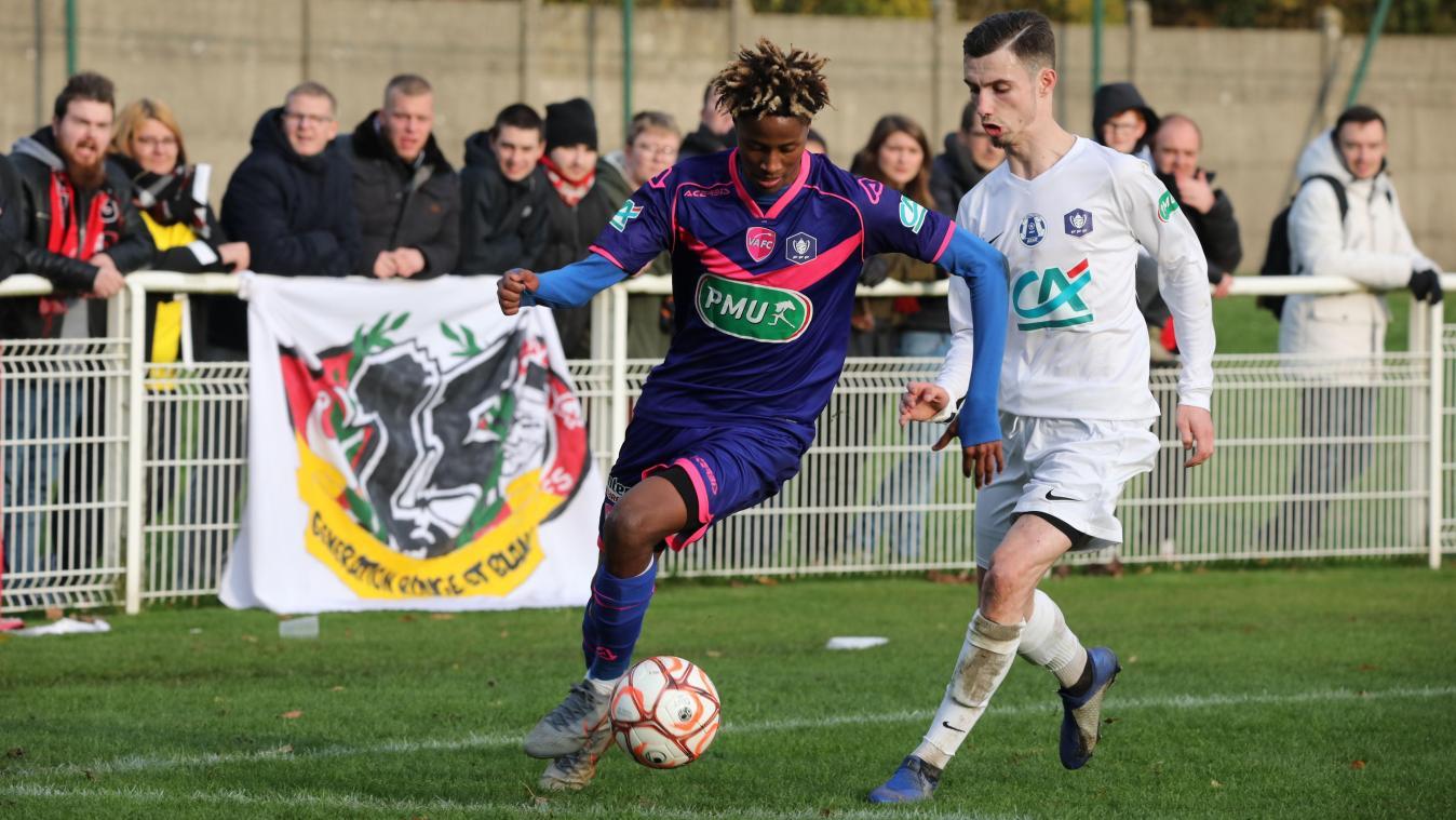 Saint-Maximin a fini par céder face à Valenciennes - Courrier picard