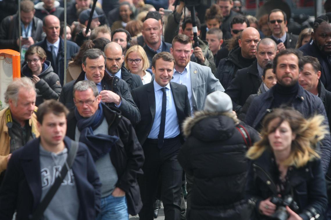 Macron assure avoir