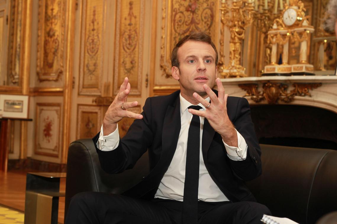 Calendrier Macron 2019.Pour Emmanuel Macron En Visite Ce Jeudi Et Ce Vendredi A