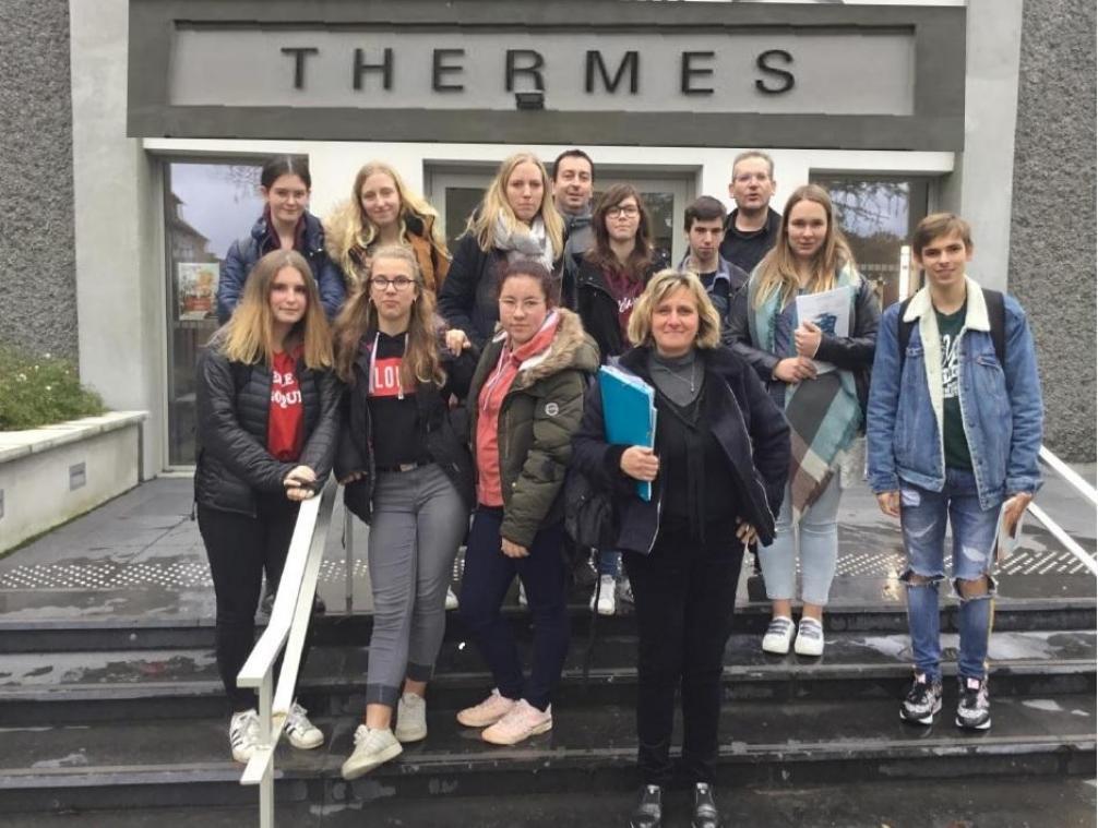 L'international poursuit son chemin au lycée de l'Authie à Doullens - Courrier picard