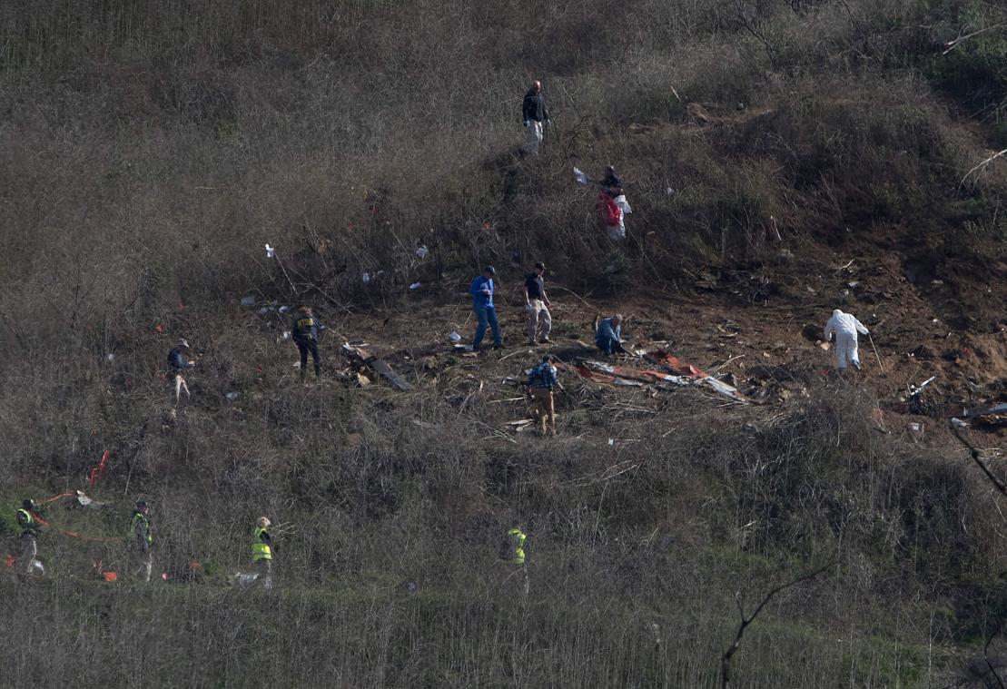 Le Corps De Kobe Bryant Identifie Parmi Les Neuf Victimes Du Crash D Helicoptere