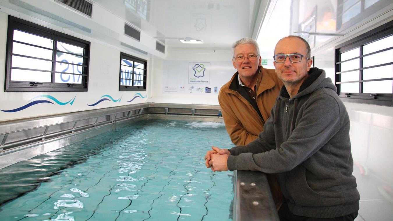 Transformer Son Bassin En Piscine l'inauguration de la piscine mobile initialement prévue le
