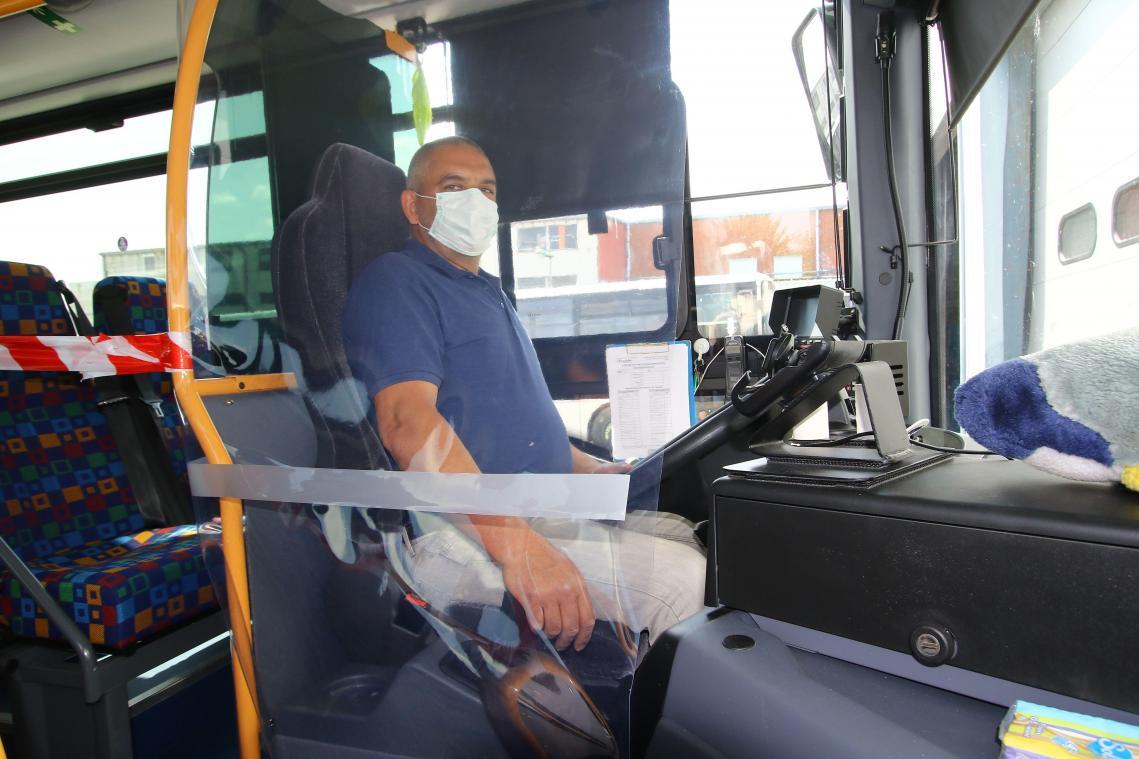 Le jour 1 de la reprise pour les cars et bus de Transdev