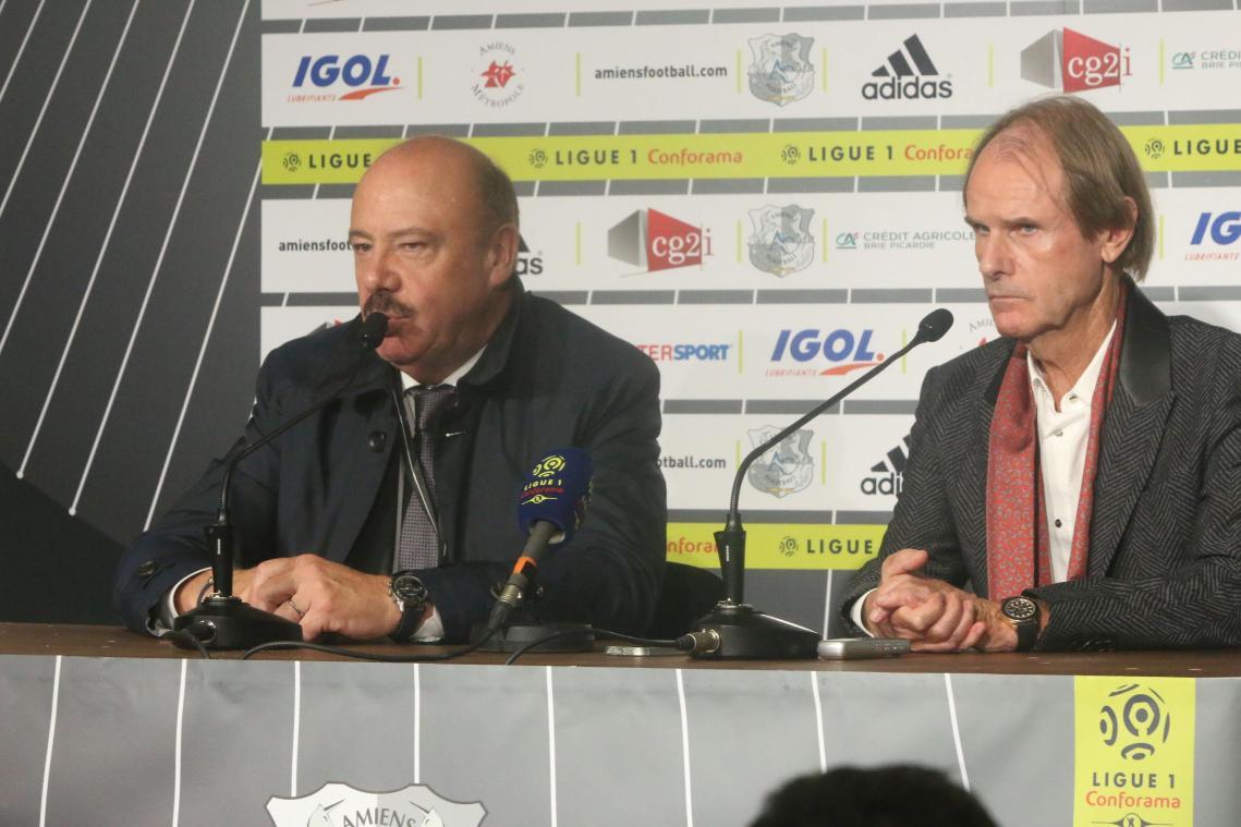 Amiens Métropole en soutien du club — Amiens SC