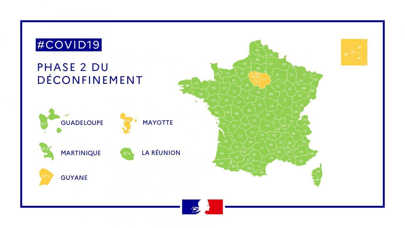 Déconfinement: la France lève une bonne partie des restrictions
