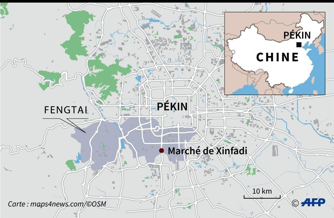 La ville de Pékin en partie reconfinée — Coronavirus