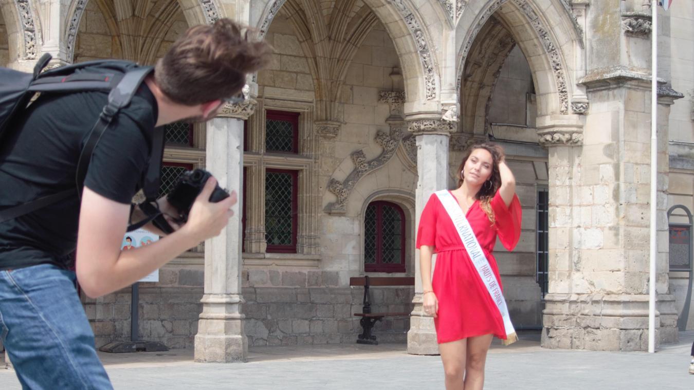 Claire Duriez souhaite faire connaître Saint-Quentin et son patrimoine.