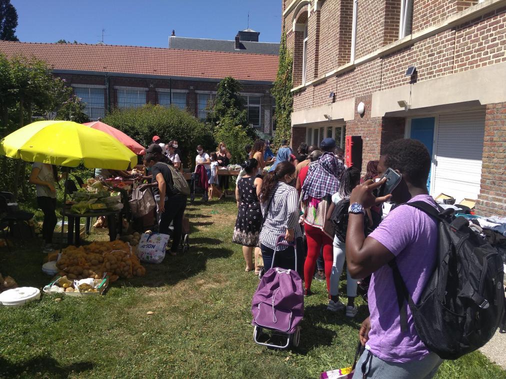 À Amiens, le Marché solidaire s'engage pour des produits bio accessibles à tous