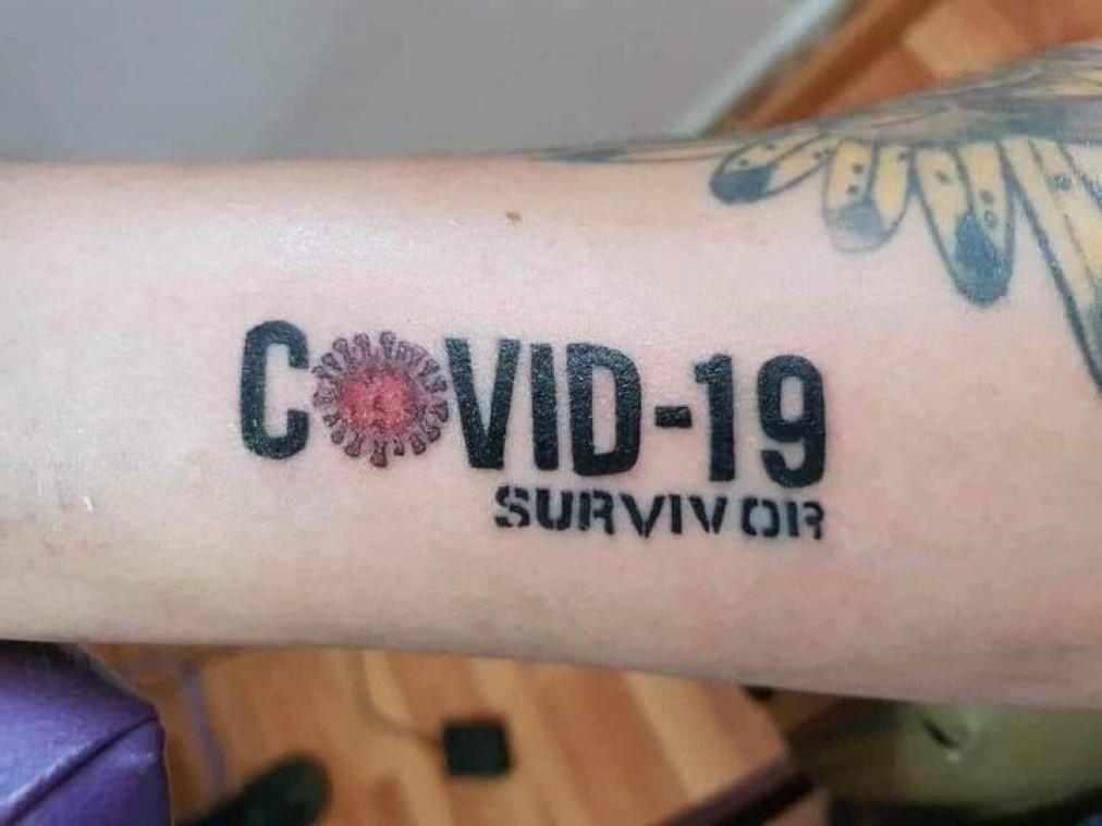Covid 19 Survivor Le Tatouage A La Mode Au Mexique
