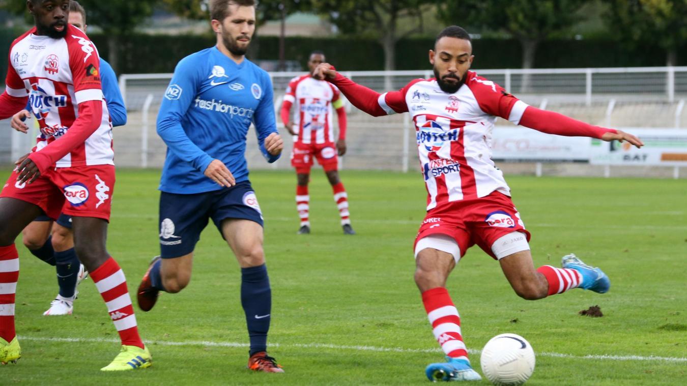 Le but inscrit par Sofiane Bekkouche, son deuxième en deux matches, a été insuffisant pour l'OSQ face à Haguenau.