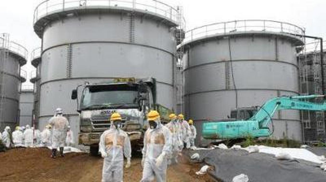 Les eaux radioactives de Fukushima seront déversées dans l'océan par le Japon