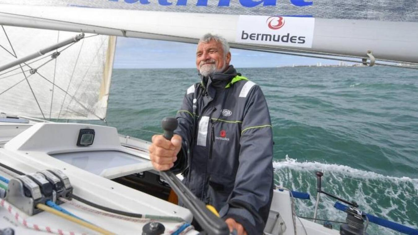 Vendee Globe Le Skipper Amienois Jean Luc Van Den Heede Aux Premieres Loges