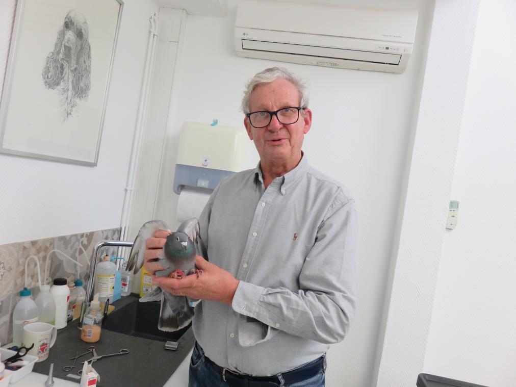 François Grandcollot est vétérinaire à Deauville. (Photo PN)