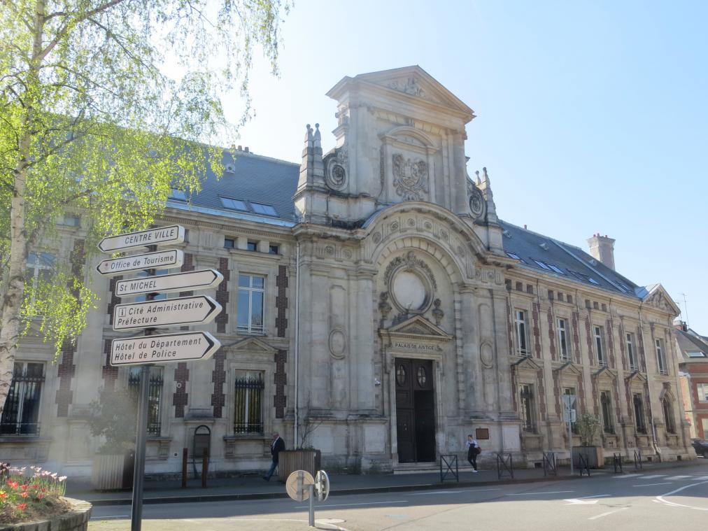 Le mis en cause a été condamné mardi 6 avril 2021 à 30 mois de prison et a été maintenu en détention pour les faits commis à Gisors, le 14 mars 2021. (Photo : Paris-Normandie)