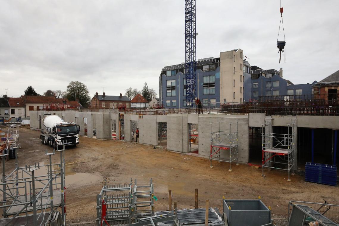À Abbeville, un hôpital en chantier