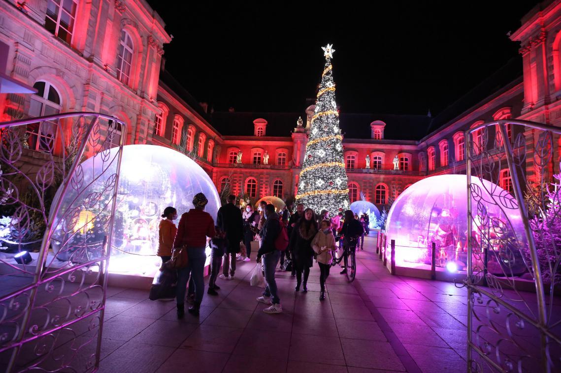 Amiens a sorti ses décors de Noël
