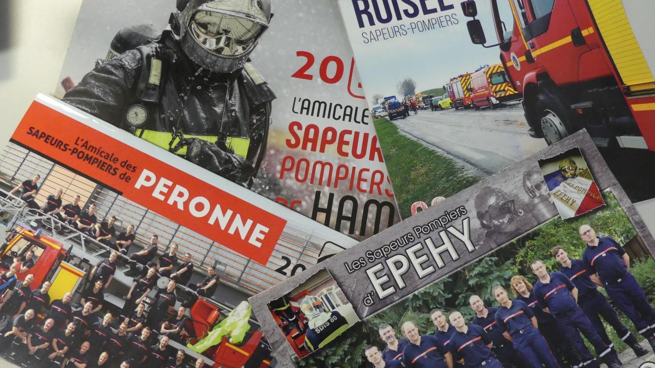 Calendrier Rederie Somme 2022 C'est reparti pour les calendriers des pompiers en Haute Somme
