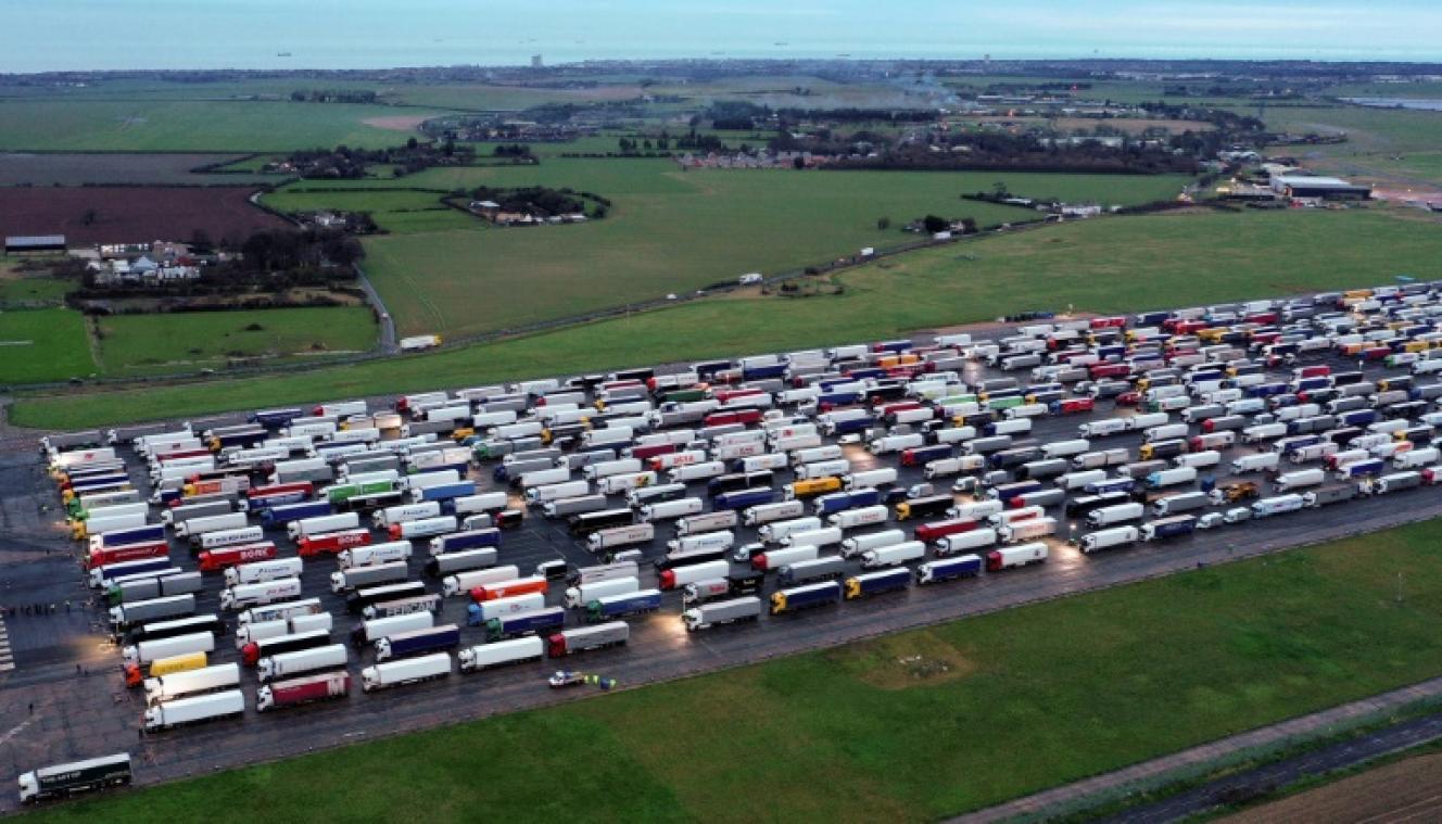 Le retour du Royaume-Uni des routiers reste