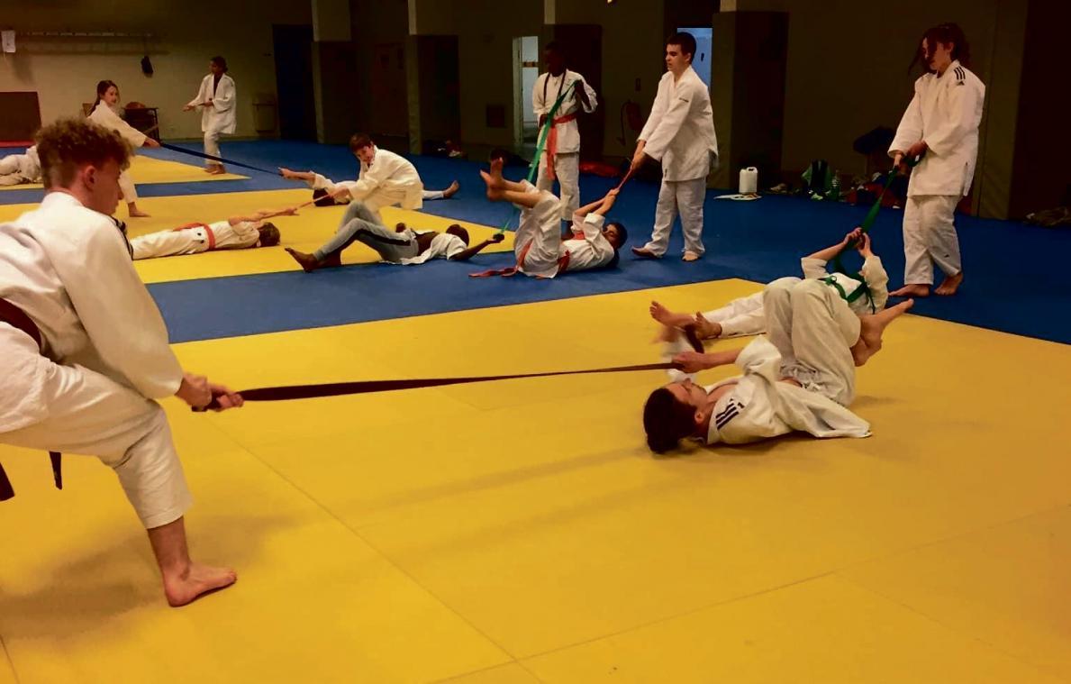 A Petit Couronne Le Club De Judo Poursuit Les Entrainements Sans Contact