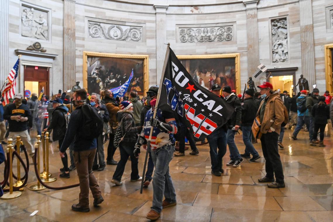 Violents incidents à Washington, le Capitole envahi par des manifestants