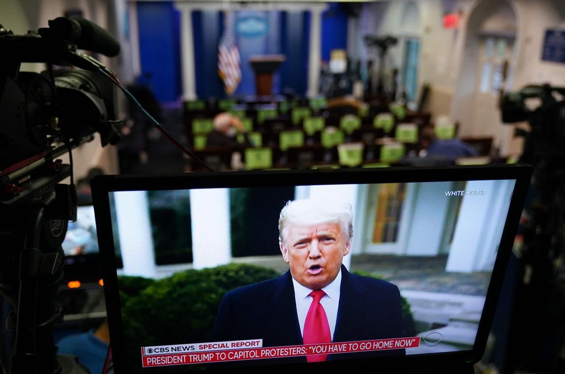 Violences au Capitole : Donald Trump risque-t-il des poursuites ?