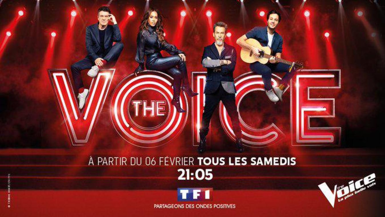 Marc Lavoine, Amel Bent, Florent Pagny et Vianney sont les coachs de la saison 10 de The Voice. — Thomas Braut/TF1/ITV.