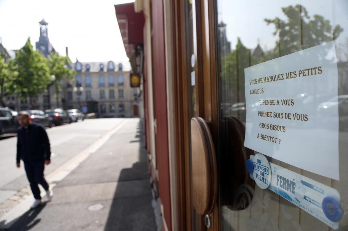 Les restaurants devraient rester fermés jusqu'à Pâques