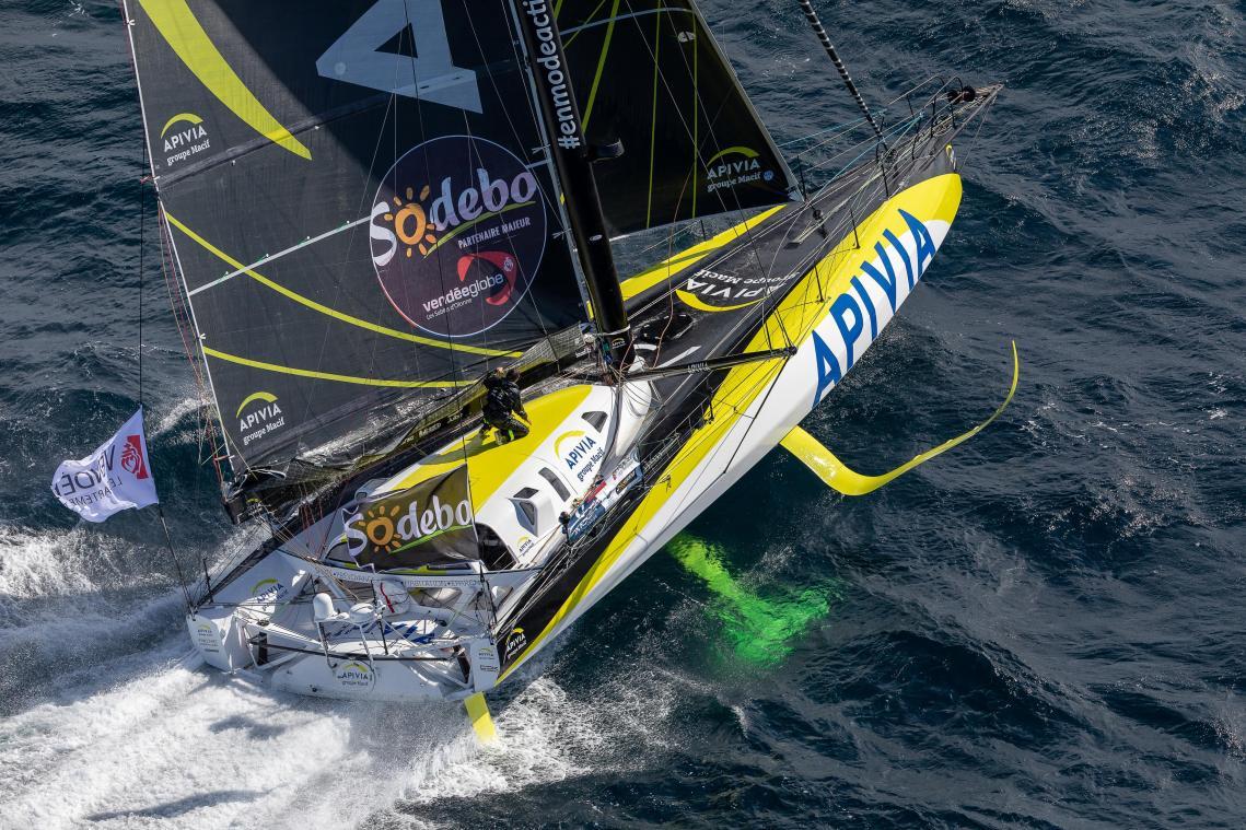 Vendée Globe : le podium s'éloigne pour Damien Seguin à l'approche de l'arrivée