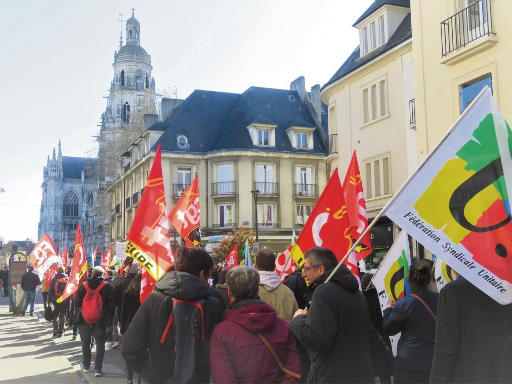 Mobilisation du 26 janvier 2021 : un test grandeur nature pour les enseignants de l'Eure