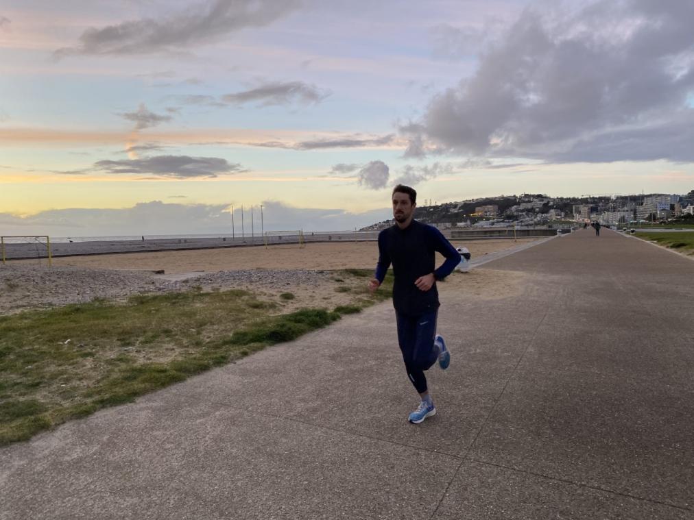 Les Normands amoureux du running doivent s'adapter aux horaires du couvre-feu