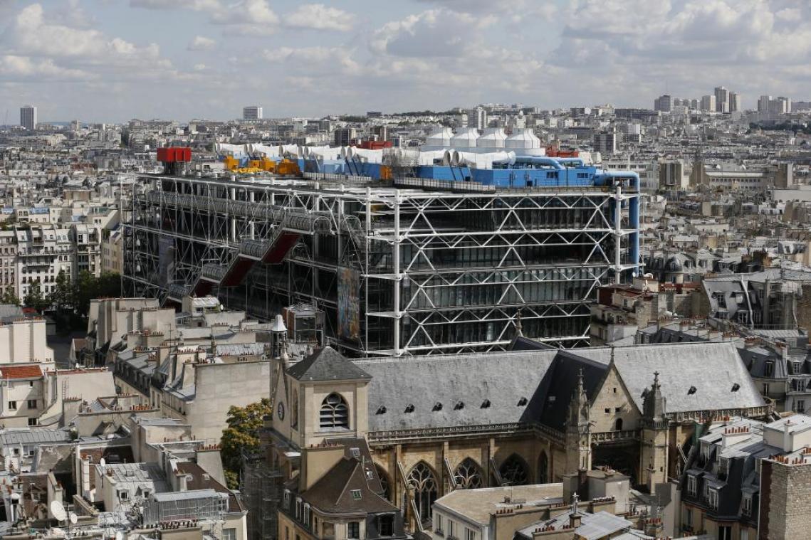 A Paris, le Centre Pompidou sera fermé trois ans pour travaux