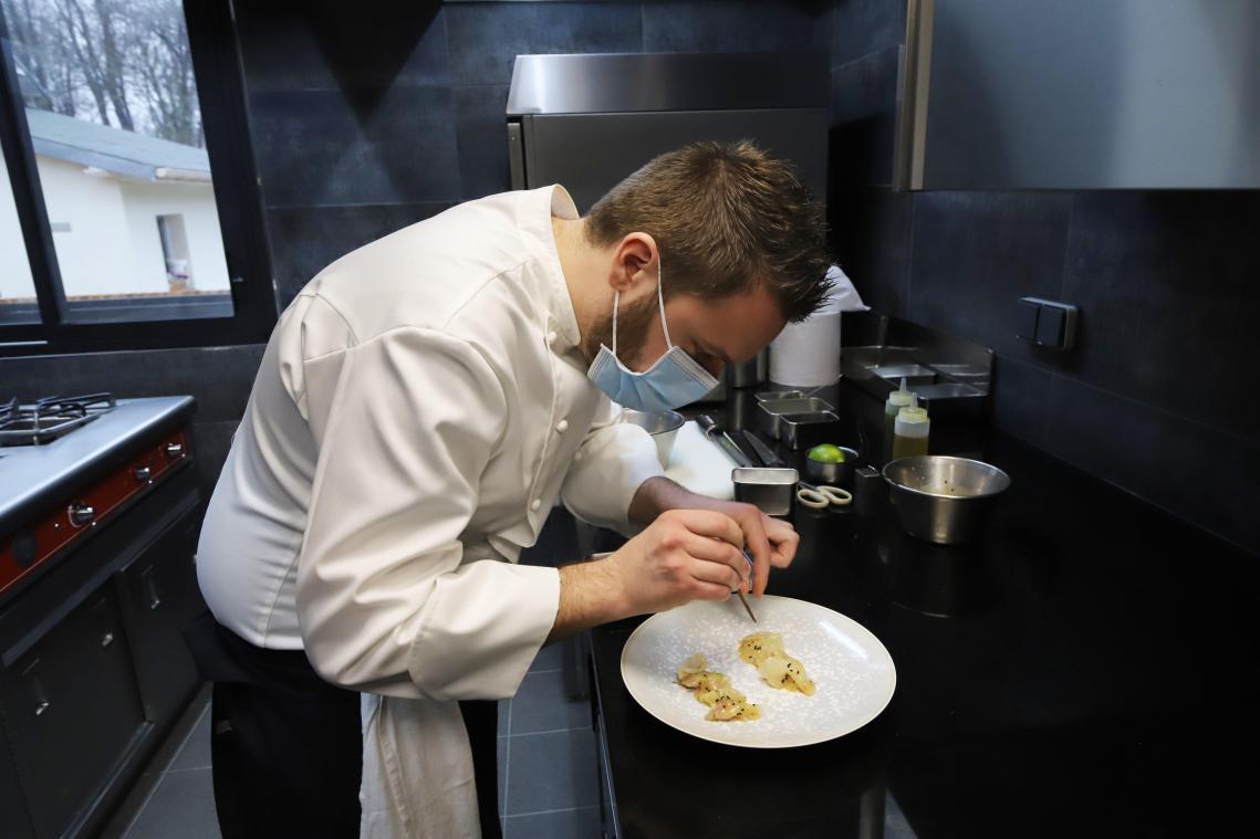 Dans les cuisines du Verbois, nouvel étoilé de l'Oise