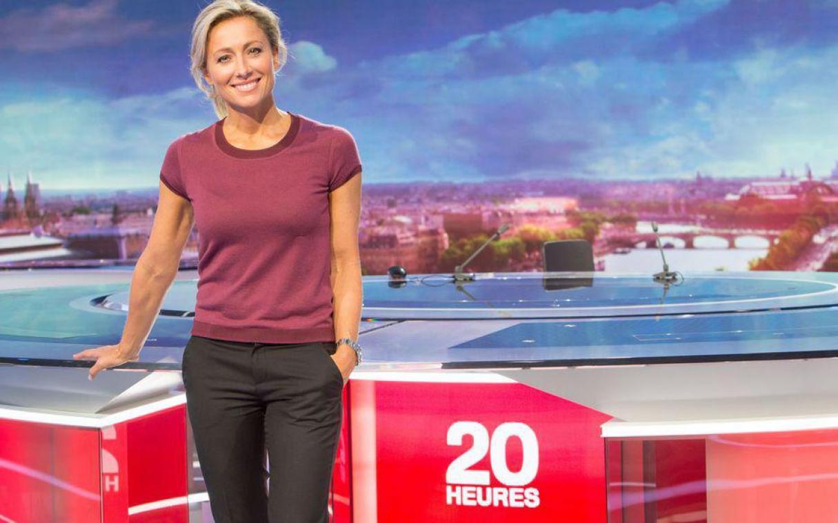 Testée positive à la Covid-19, la journaliste vedette de France 2 à l'isolement — Anne-Sophie Lapix