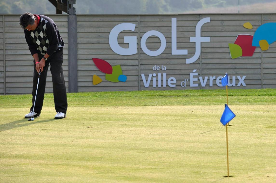 Le golf municipal d'Évreux a été réintégré au budget principal de la Ville. (Photo d'archives : PN)