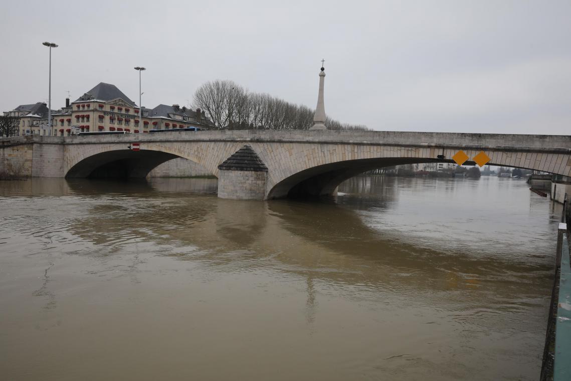 L'Oise déborde à Compiègne