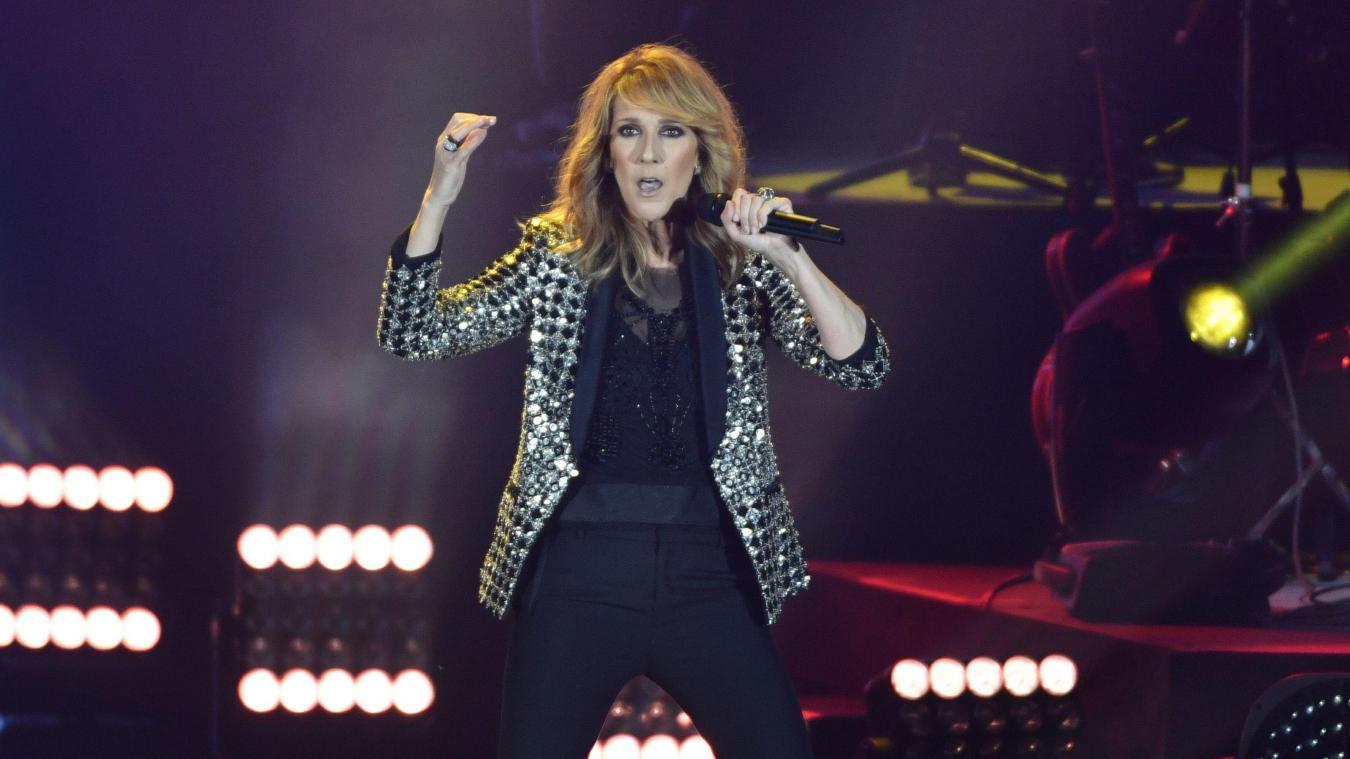 Céline Dion ne se produira pas en concert durant l'année 2021.