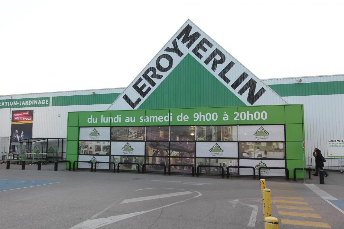 Un homme a été interpellé en flagrant délit de vol dans le magasin de bricolage Leroy Merlin à Longueau.