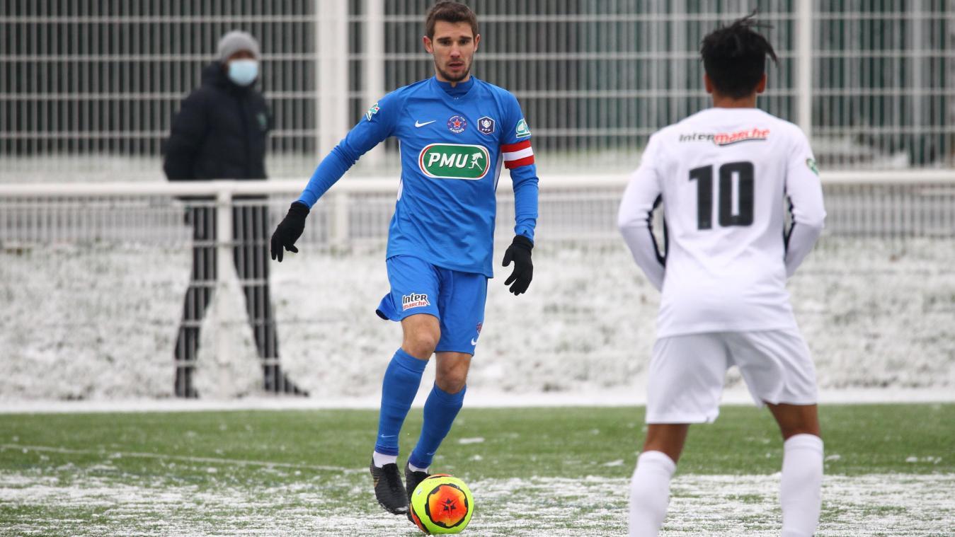 Kévin Martinez et l'AC Amiens, qui s'étaient notamment qualifiés sur la pelouse enenigée de Lesquin au 7e tour de la Coupe de France, ne s'attendent pas à reprendre.