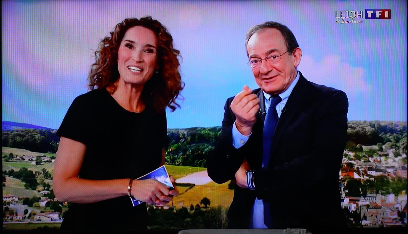 La journaliste Marie-Sophie Lacarrau a repris le poste de Jean-Pierre Pernaut à la tête du journal de 13H de TF1 en décembre.