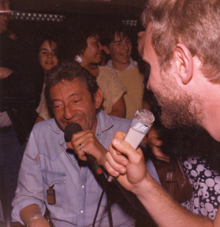 Serge Gainsbourg au Havre, en mai 1986, une journée et une soirée restées dans toutes les mémoires (Photo DR)